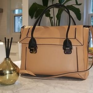 BCBGMAXAZRIA Tan Leather Handbag